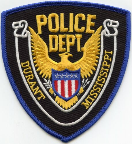 DURANT MISSISSIPPI MS POLICE PATCH