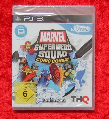 Marvel Superhero Squad Comic Combat PS3 PlayStation 3 Spiel Neu deutsche Version (Super Hero Squad Comic)