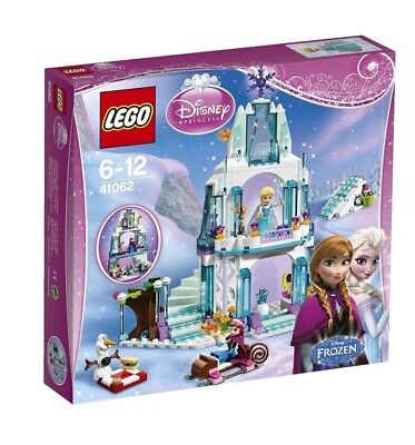 LEGO FROZEN Anna & Elsa's Sparkling Ice Castle 41062 Disney Princess Ages 6-12