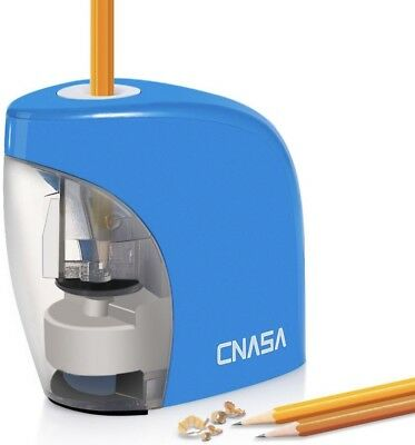 Cnasa Electric Pencil Sharpener Auto-stop Featureusb Battery Operated With Usb