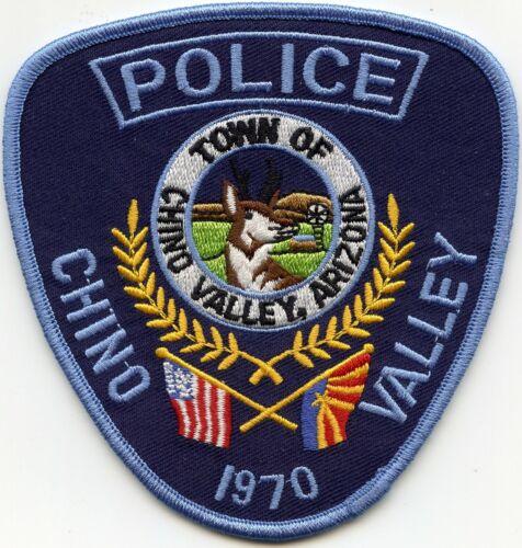 CHINO VALLEY ARIZONA AZ POLICE PATCH