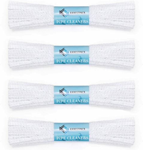 KKBESTPACK Bundles Pipe Cleaners Soft Bristle Value Pack 176 Count(4 x 44Count)