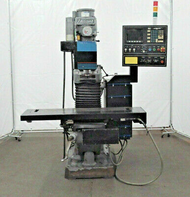 Alliant Cnc 3 Axis Milling Machine  9x 48
