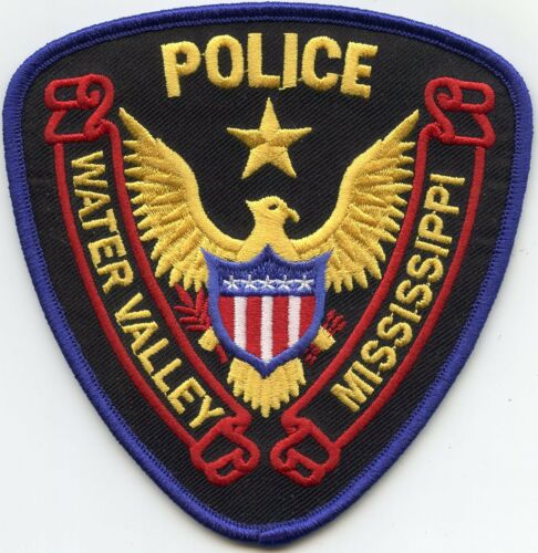 WATER VALLEY MISSISSIPPI MS POLICE PATCH