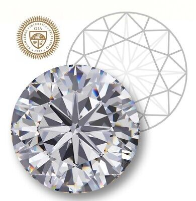 GIA Certified Round 0.51-Ct I-Color I2-Clarity VG-Cut 5.11 mm, Natural Diamond