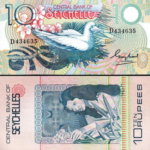Seychelles 10 Rupees 1983 , UNC , P-28 , Central Bank
