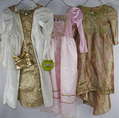 PRINCESS Girls SZ 5-8 DRESS-UP LOT Medieval,Renaissance,Middle Ages
