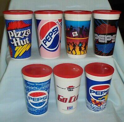 Pizza Hut Pepsi Cola Designs Winter Wonderland Plastic To Go Drinking Cups (Designer Hut)