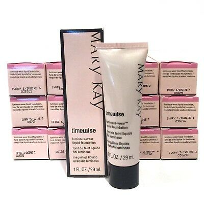 MARY KAY TIMEWISE LUMINOUS WEAR LIQUID FOUNDATION~YOU CHOOSE SHADE~DISCONTINUED!