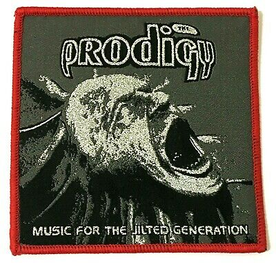 THE PRODIGY - Music for the Jilted Generation - Square Woven Patch Rare Aufnäher