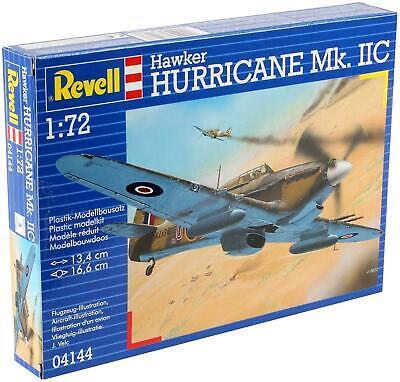 Revell Hawker Hurricane Mk.IIC 1:72 Scale Kit. Level 3 04144