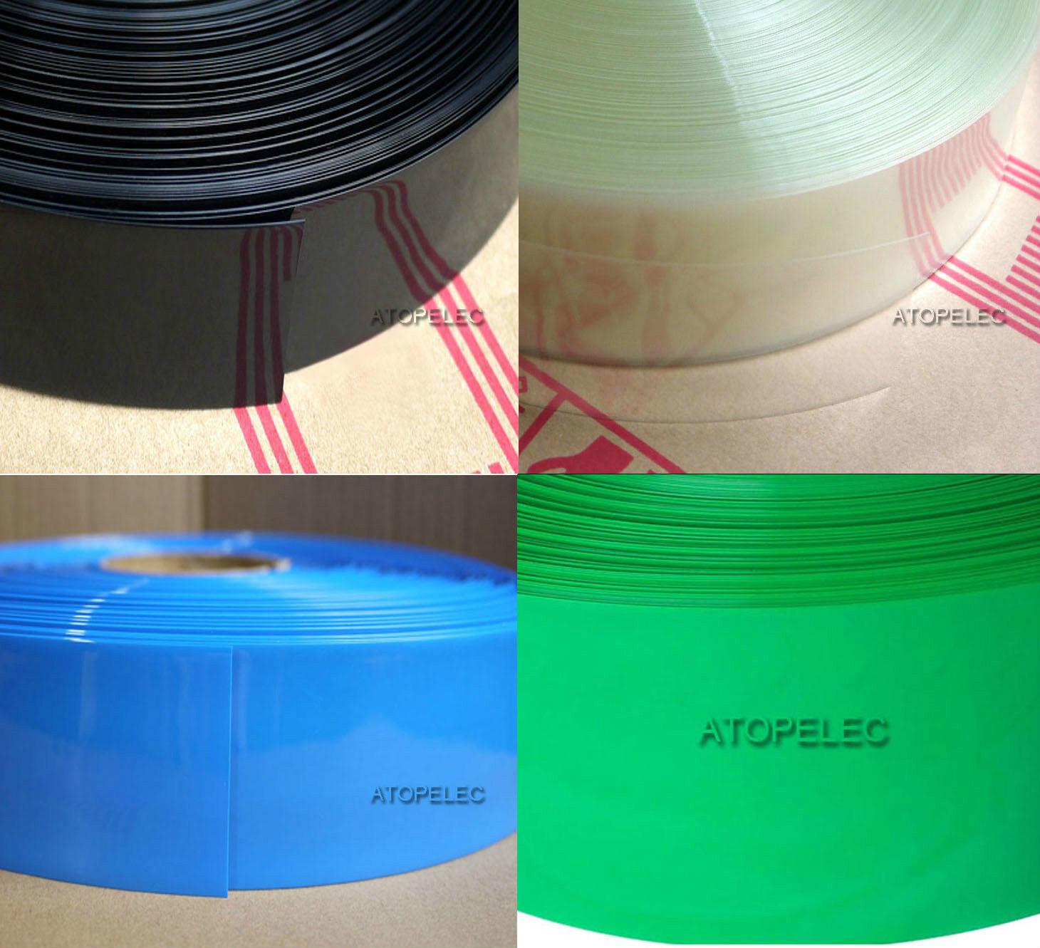 188MM Wide Φ118MM PVC Heat Shrink Tubing Battery Wrap