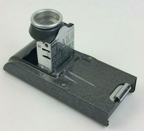 Vintage PAK Slide Viewer for 35mm Ready-Mount Slides Box Instructions *See Pics