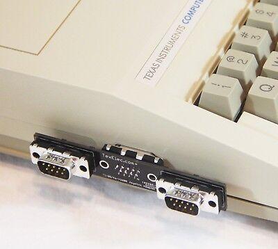 TI-99/4a to Atari 2600 Style Joystick Adapter - Supports Two Joysticks