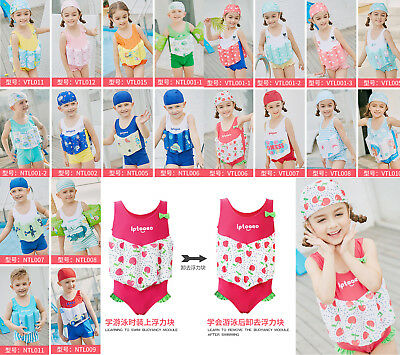 One Piece Girls Boys Buoyancy Vest Float Suit Baby Toddler Child Swimming Aid