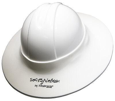 Sunbrero Construction Hard Hat Sun Visor White