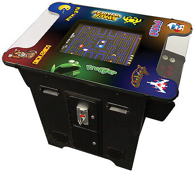 NEW COMMERCIAL GRADE VIDEO ARCADE COCKTAIL TABLE Machine Multigame 80's games