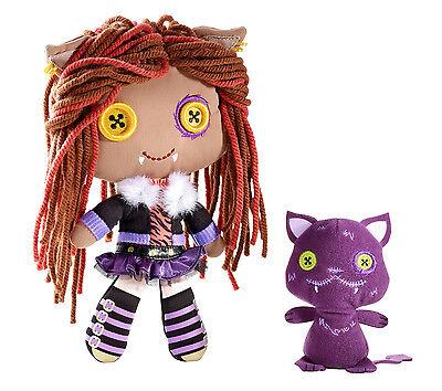 Monster High Clawdeen Wolf & Crescent Monsterfreunde Plüsch - Monster High Plüsch