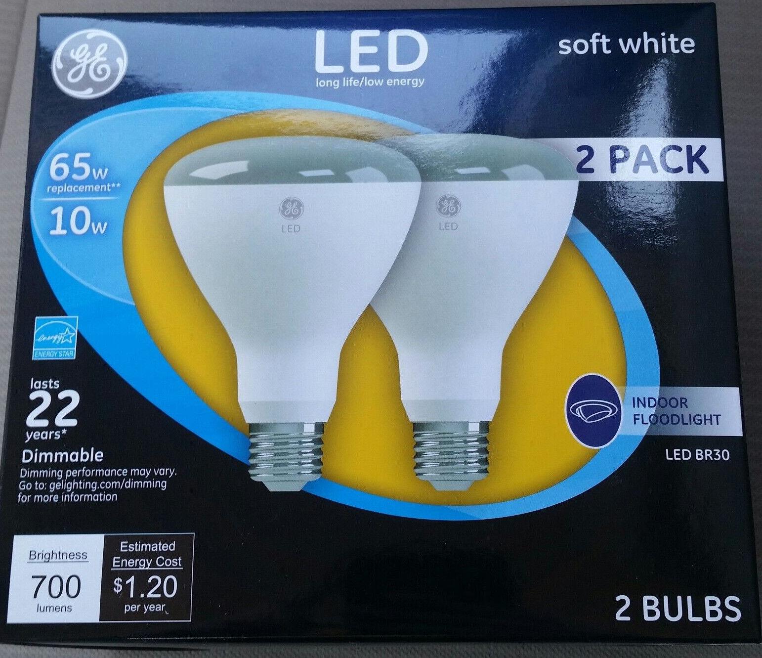 GE Lighting 21907 Energy-Smart LED 10-watt , 700-Lumen R30 F