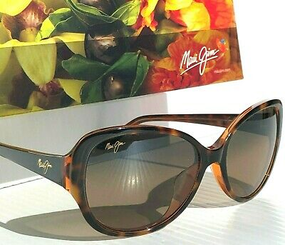 NEW* Maui Jim SWEPT AWAY Tortoise POLARIZED HCL Bronze Women's Sunglass (Maui Jim Sunglasses Women)