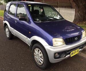 Daihatsu Terios purple Auto 2001 Tighes Hill Newcastle Area Preview
