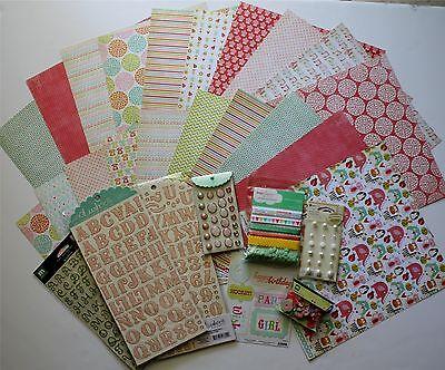 My Mind's Eye alphabet Soup (girls) Paper & Embellishments Save 80%