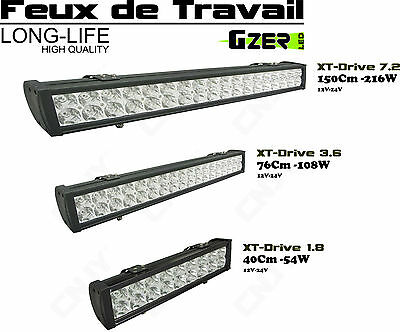 PHARE FEUX DE TRAVAIL PROJECTEUR LED 12-24V ECLAIRAGE CHARIOT ELEVATEUR DIESEL