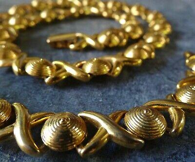 60s -70s Jewelry – Necklaces, Earrings, Rings, Bracelets vintage signed NAPIER modernist gold tone necklace bracelet set -N243 $68.41 AT vintagedancer.com