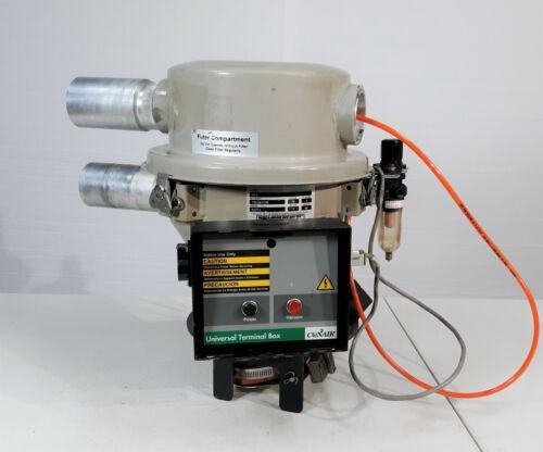 Conair DuraLoad DL8 Central Vacuum Loader Receiver w/ UTB Universal Terminal Box