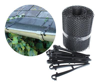 Dachrinnenschutz 6m Laubschutz Dachrinne Gitter Laubfang Regenrinne Marderschutz