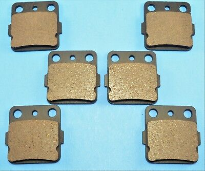 New Front & Rear Brake Pads  For HONDA Sportrax 300 TRX300EX 2x4 (1993-08)