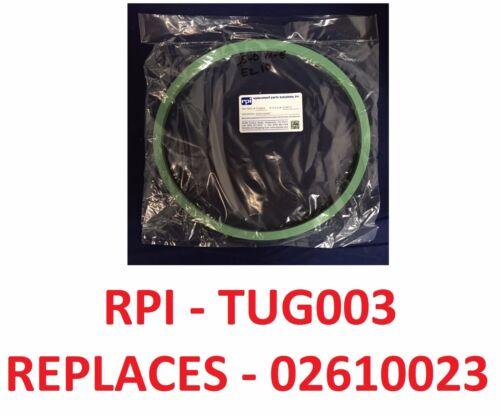 "Tuttnauer EZ10 / 2540 M DOOR GASKET Autoclave 10""  RPI FDA"