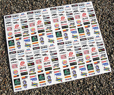SLOT CAR SCALEXTRIC 1/32nd 'DRIFT' Japan sponsor logo stickers decals