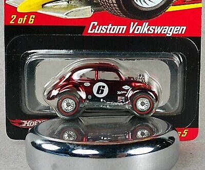 Hot Wheels RLC Custom Volkswagen Real Riders Series 5 Online Exclusive w/case
