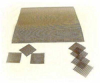 Bonsai Abdecknetze Gitter Drainage für Bonsaischalen --> 1 x 24,5 x 24,5 cm