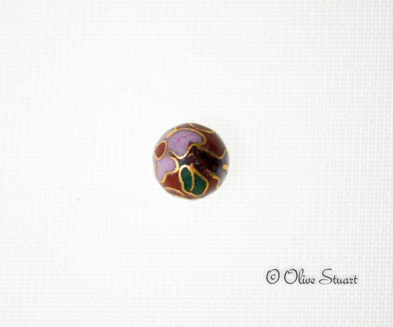Oriental Cloisonne Beads Loose 8mm