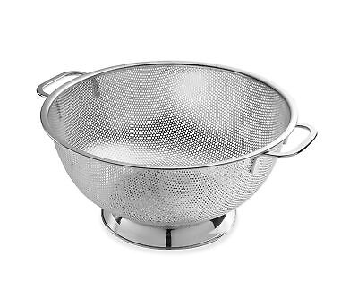 Bellemain Micro-perforated Stainless Steel 5-quart Colander-Dishwasher Safe 5 Quart Colander