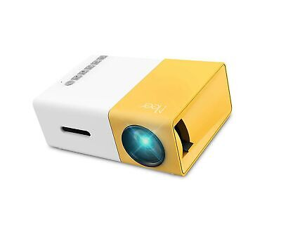 Mini Projector, Meer YG300 Portable Pico Full Color LED LCD