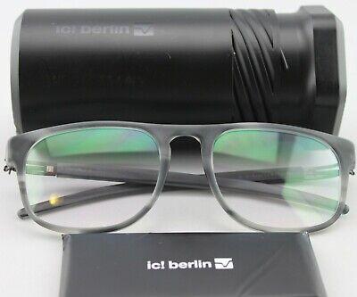 ic berlin!  deltlef H smoky matt optical frame demo RX anti reflective original (Berlin Optical)