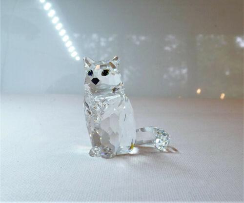 SWAROVSKI Sitting Cat Figurine 160799 ~ with Box