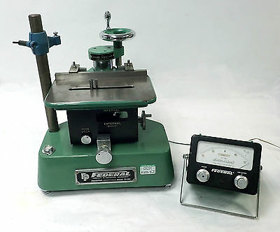 Federal Electronic Gage 136b-2-r1 Vertical Adjustable Bore Comparator .000005