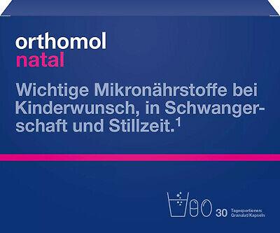 Orthomol Natal Granulado, 30 Porciones Granulado, 01319904