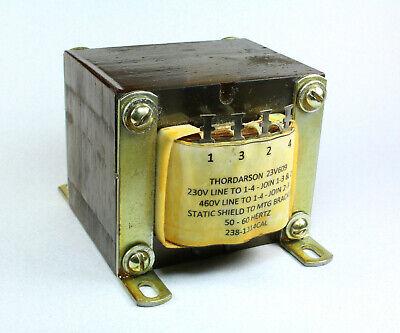 Thordarson 23v609 Transformer Isolation Step-updown Or Straight 230460v 100v