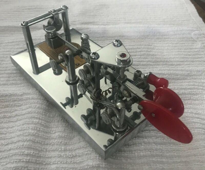 Vibroplex Lightning Bug Code Key Serial #203556