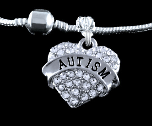Autism Charm Fits European style Bracelet Autistic awareness charm