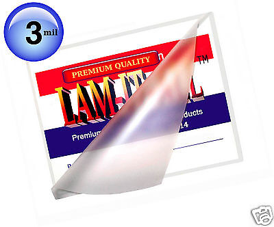 300 Pc Hot 3 Mil Letter Size Lam-it-all Laminating Pouches 9 X 11-12 Clear