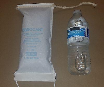 Uline S-11204 Desiccant Bags (PAIR) Fridge + Freezer Removes Moisture Dry Air for sale  Pomona