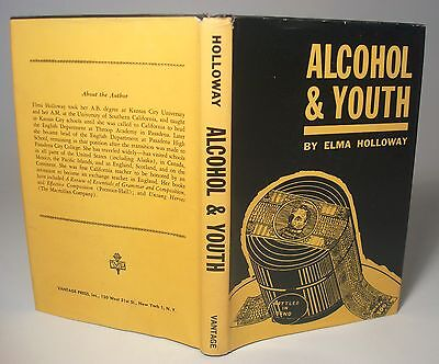 Alcohol   Youth Elma Halloway Alcoholism Effects Temperance Movement Vtg Signed