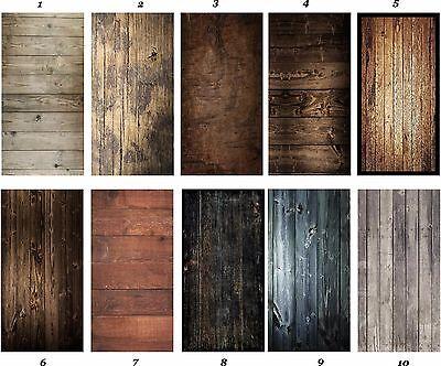 Wood Grain Cornhole 3M Decal Wrap Set Laminated - Pick Wood