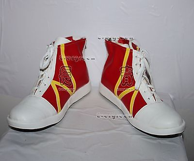 Pokemon Misty Daily Sports Adult Cosplay Shoes Boots C006 (Misty Cosplay Shoes)